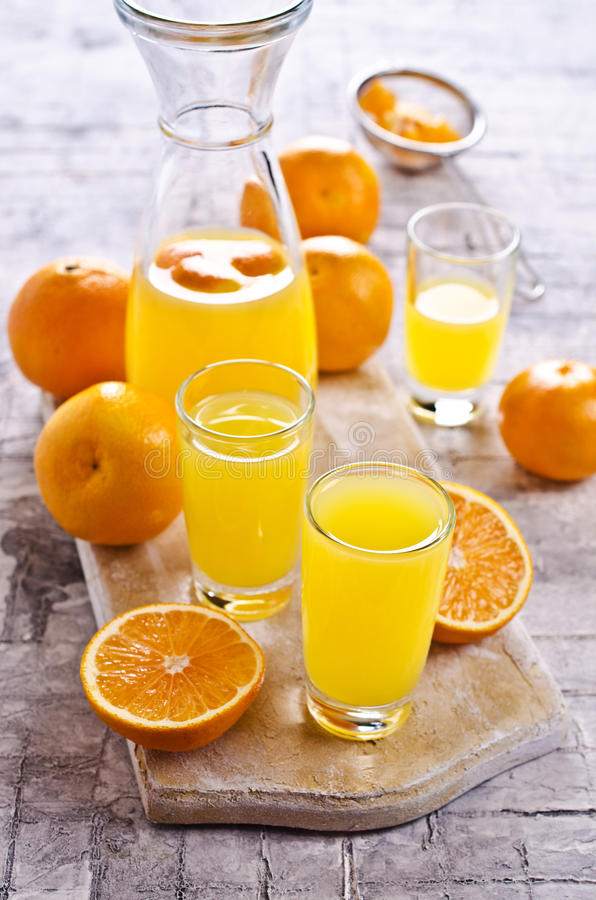 Free Orange Drink In A Glass Royalty Free Stock Photos - 83429938