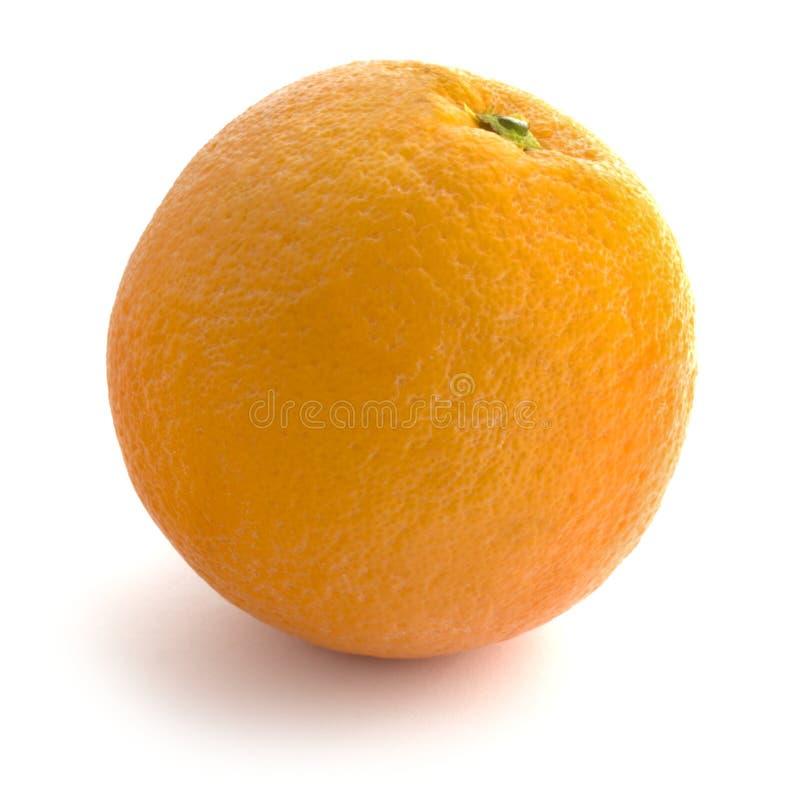 Orange entière d'isolement photographie stock libre de droits