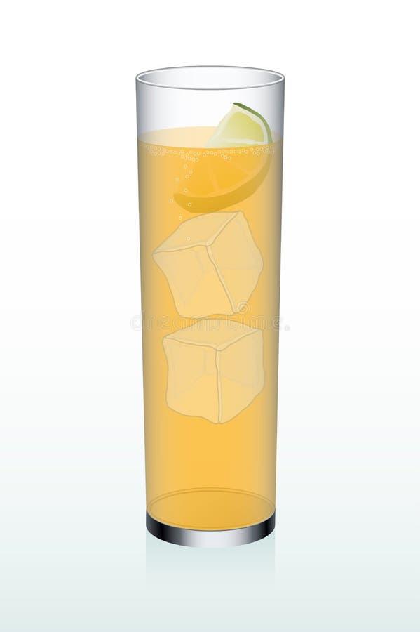 Orange Erfrischung stock abbildung