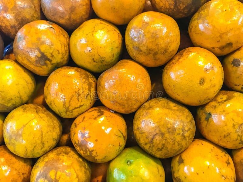Orange et x28 ; fruit& x29 ; photo libre de droits