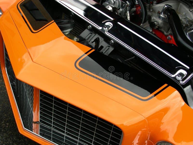 Orange et noir photographie stock