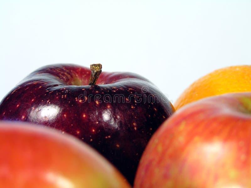 Orange et pommes photo libre de droits