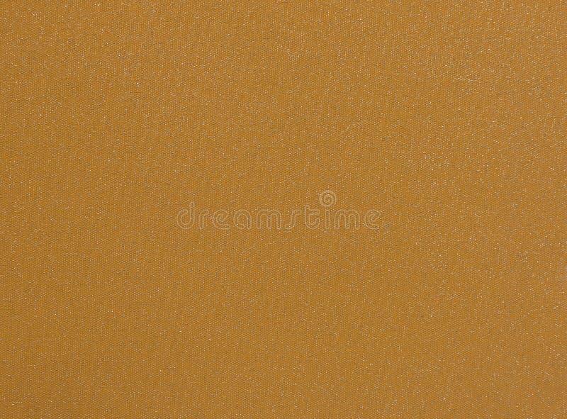 Orange Fabric with Patches. Fabric Burlap Cotton Linen Material Canvas Textile stock images