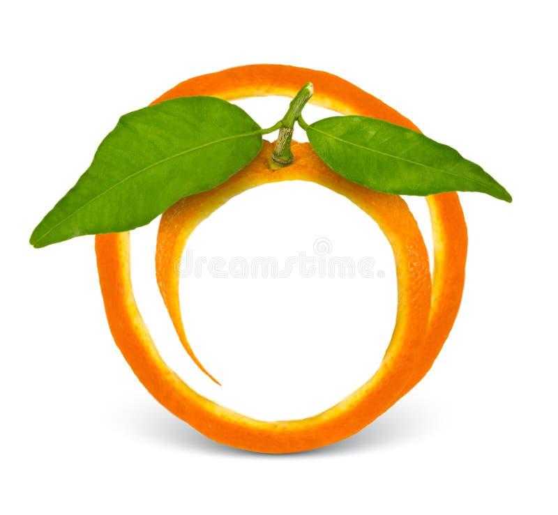 Orange Feld lizenzfreie stockbilder