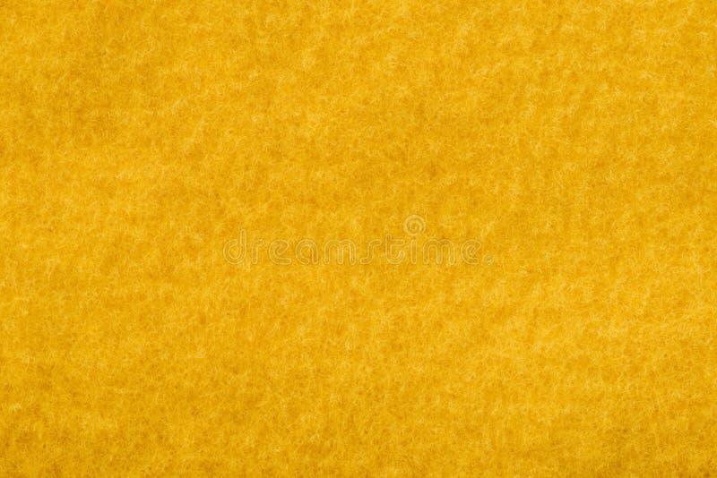 Orange felt texture royalty free stock images