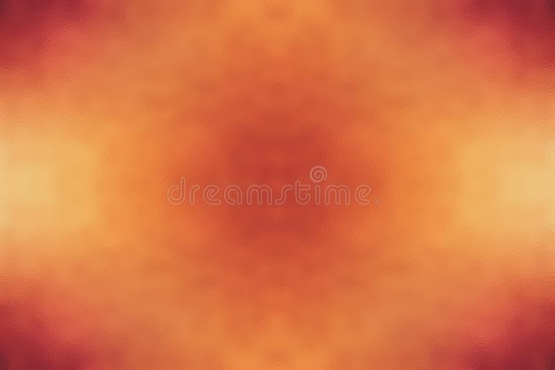 Orange fire abstract glass texture background or pattern, design template. Orange fire abstract glass texture background or pattern, creative design template royalty free stock images