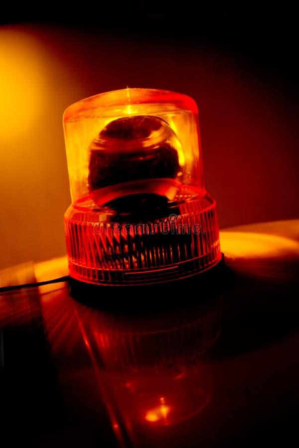 Download Orange Flashing And Rotating Light Stock Image - Image: 38914627