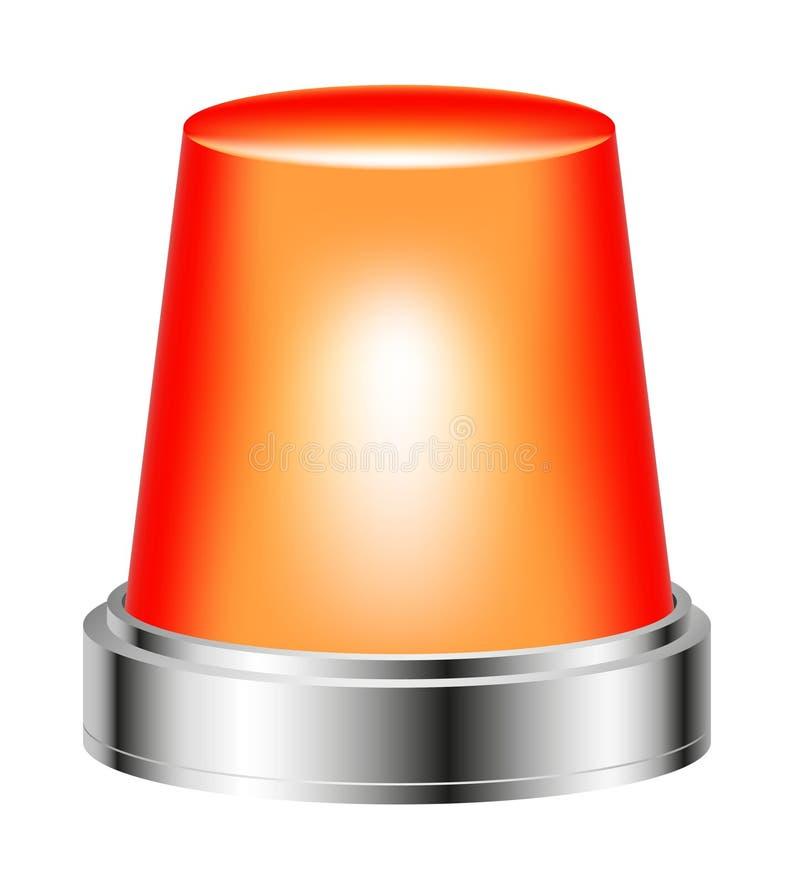 Download Orange flashing siren stock vector. Image of urgency - 22620227