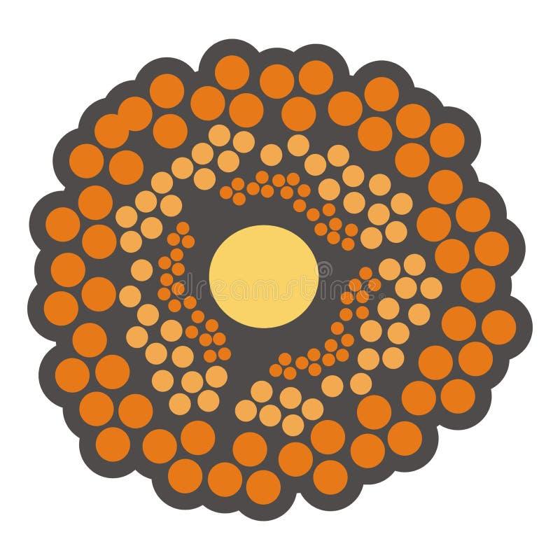 Download Orange Flower Or Cells Stock Image - Image: 2322531