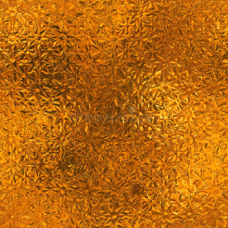 Free Orange Foil Seamless And Tileable Background Texture. Royalty Free Stock Photo - 81722205