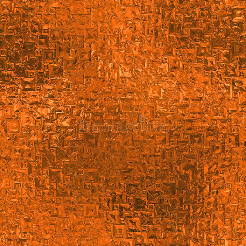 Free Orange Foil Seamless And Tileable Background Texture. Stock Photography - 81722822