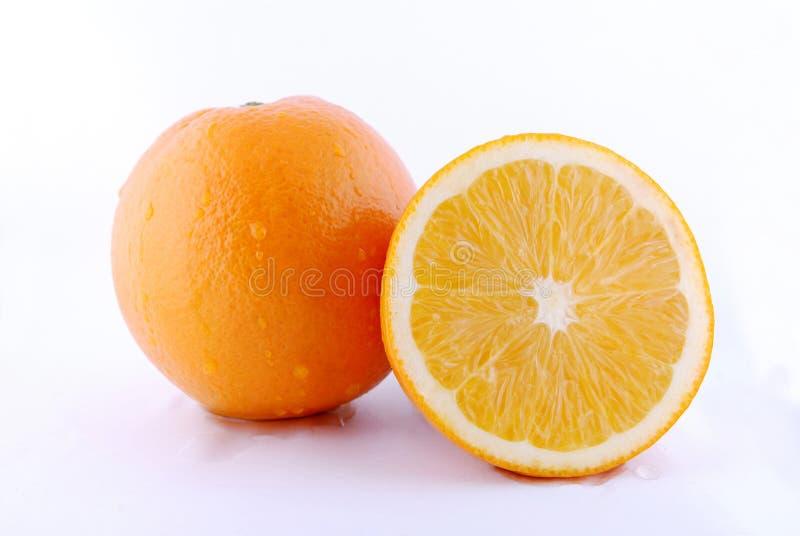 Orange fraîche photo stock