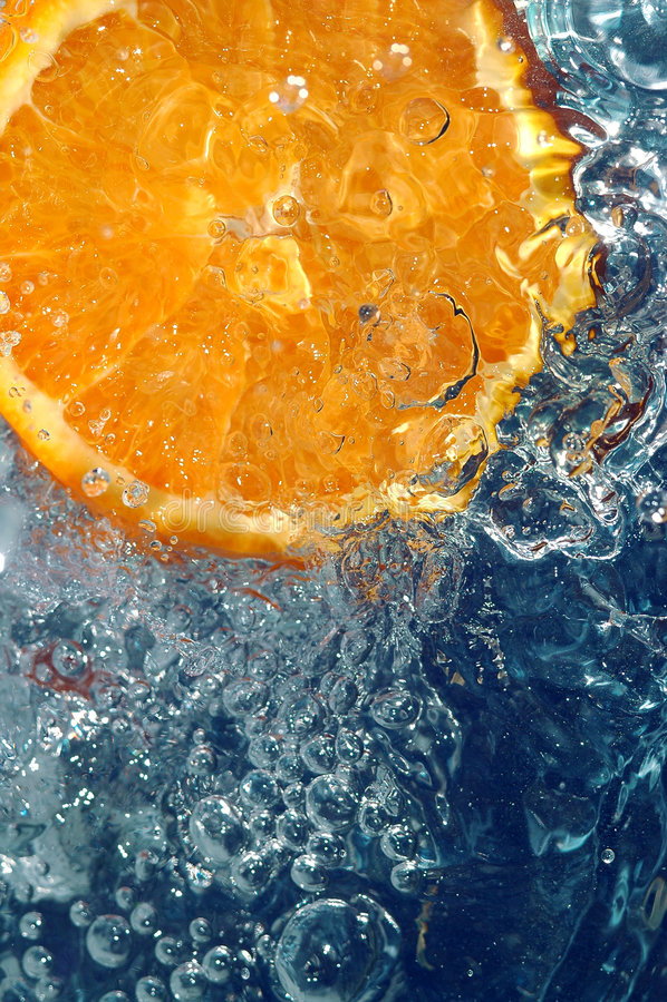 Orange fraîche photos libres de droits