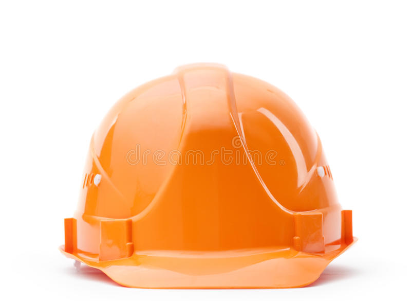 Download Orange fronted hard hat stock image. Image of build, material - 25918923