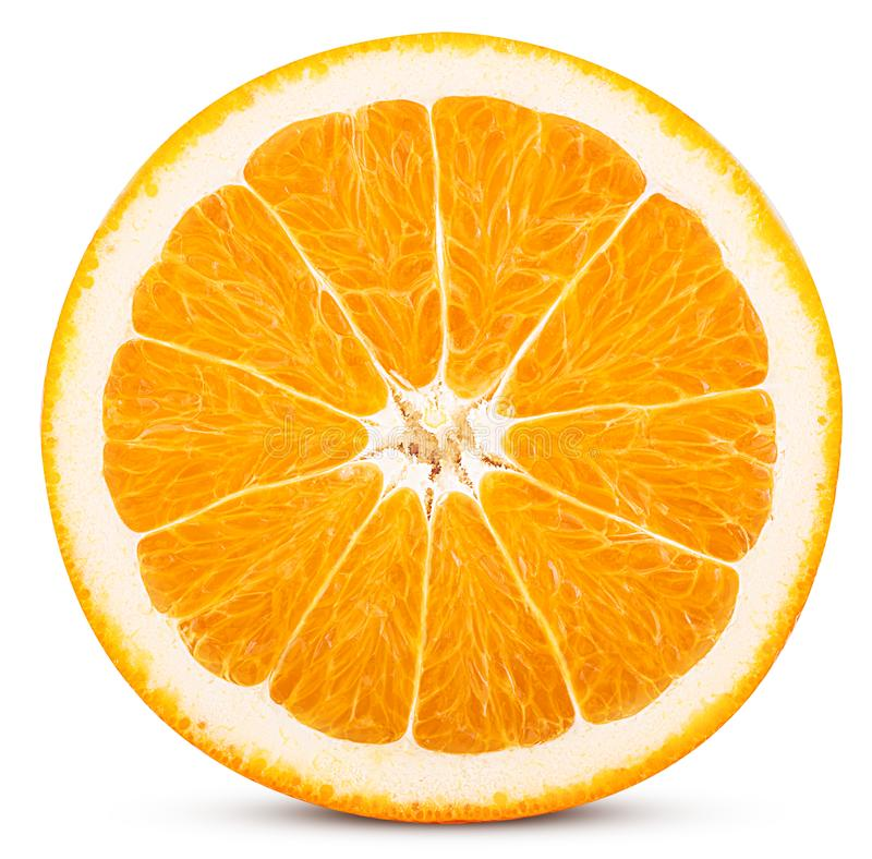 Free Orange Fruit Cut In Half Stock Photos - 114776393