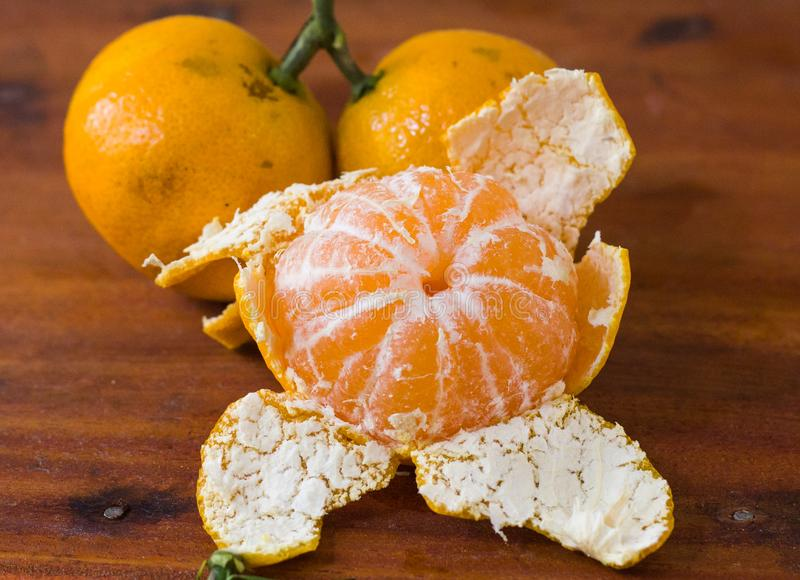 Orange fruit for healthy and vitamin C royalty free stock photo