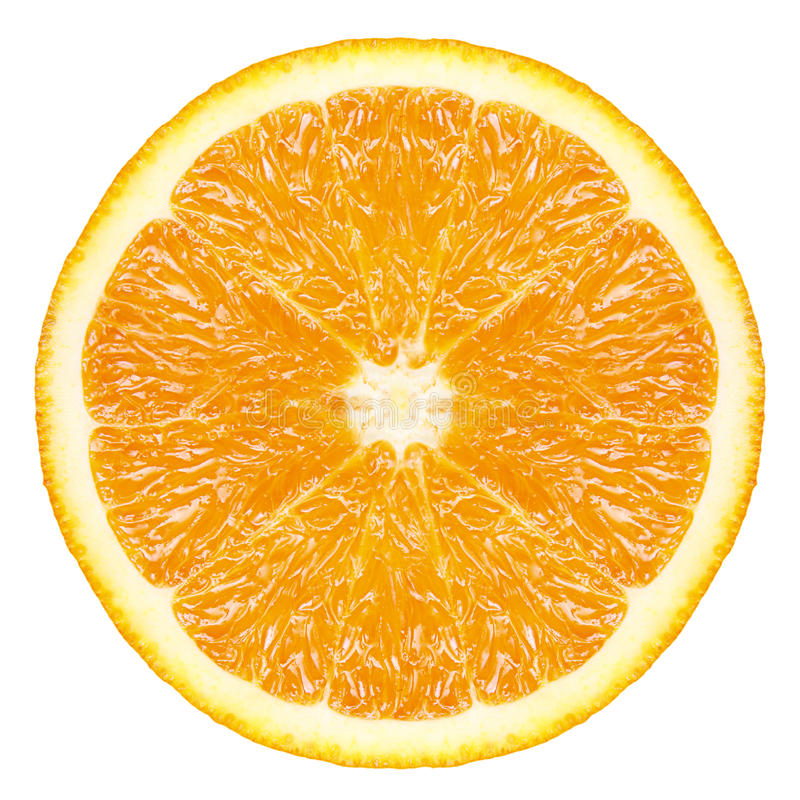 Orange fruit slice stock image. Image of freshness, food ...