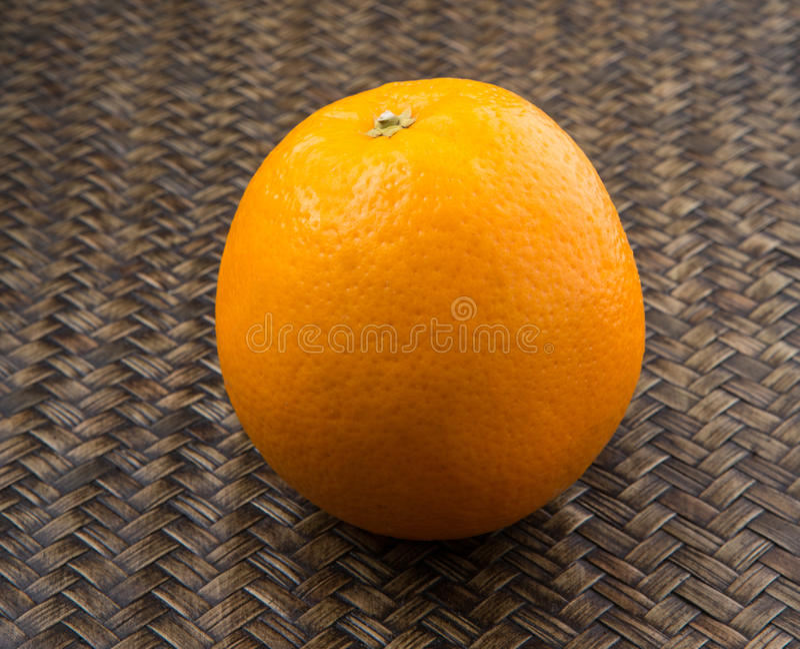 Orange Fruits On Wicker II royalty free stock image