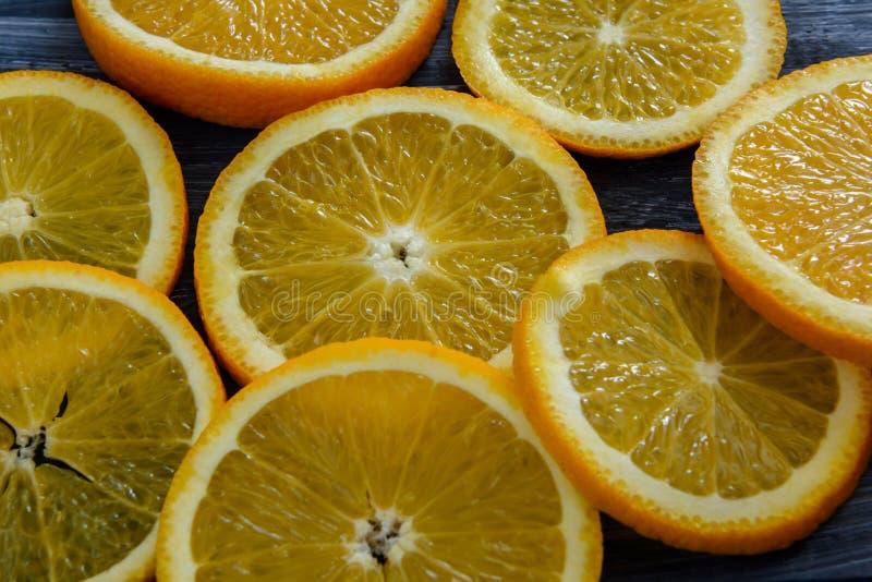 Orange frukt arkivbilder