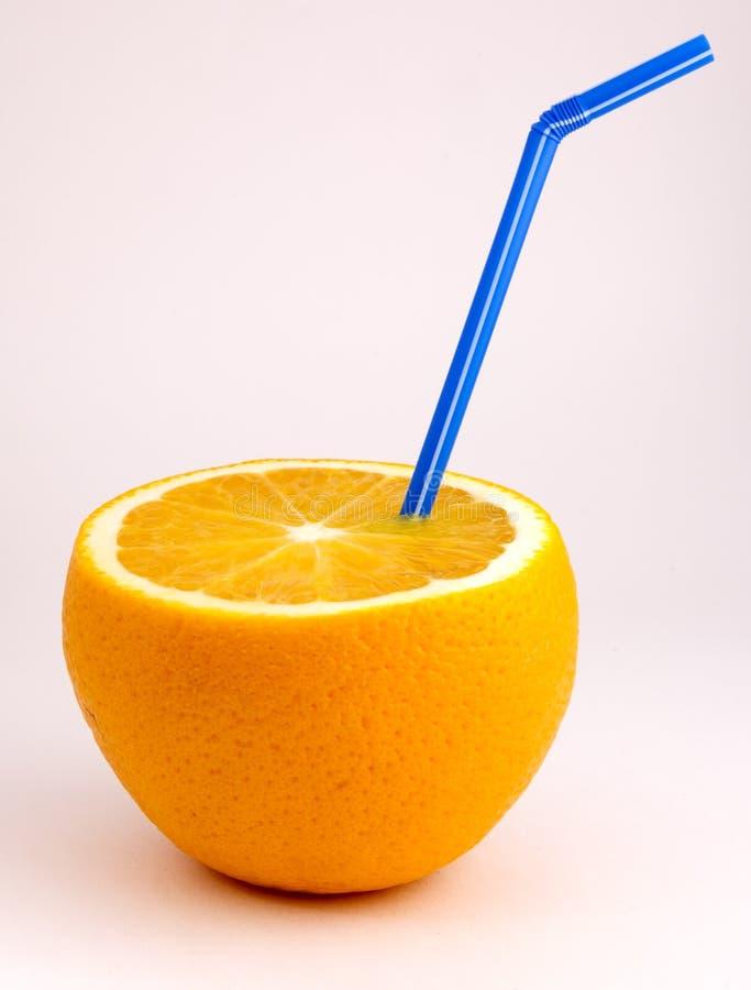 Download Orange fruktsaft fotografering för bildbyråer. Bild av navel - 282213