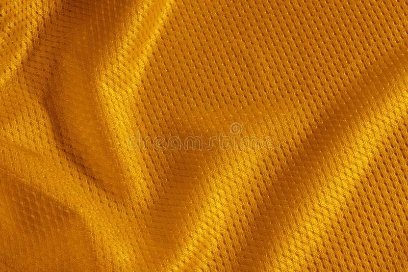 Orange Fußball Jersey stockfoto