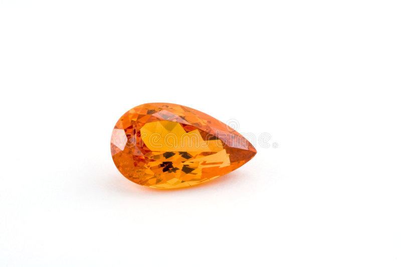 Orange garnet stock photography