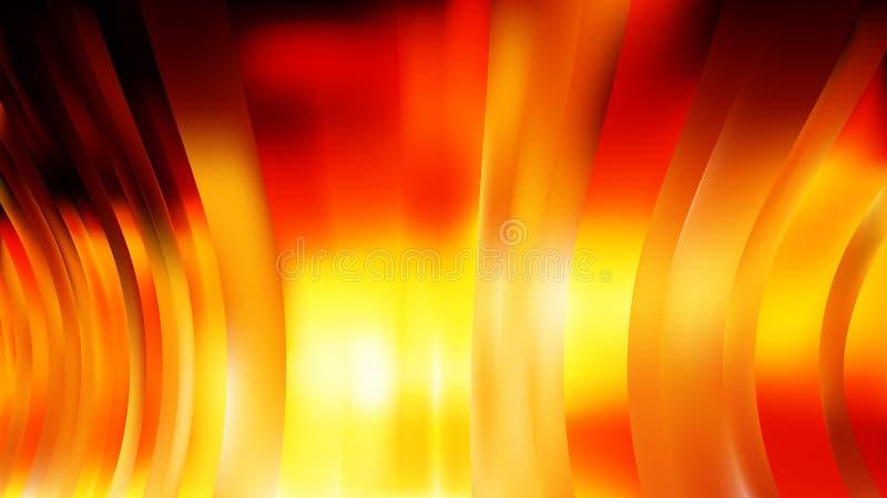 Orange gelber Hintergrund Entwurf der grafischen Kunst der roter Hintergrund-sch?ner eleganter Illustration stock abbildung