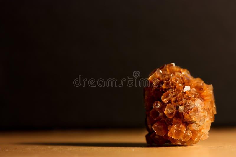 Orange gemstone fotografering för bildbyråer