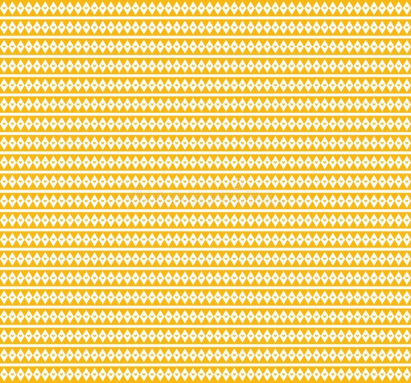 Orange geometric love pattern background and wallpaper.  royalty free stock photos