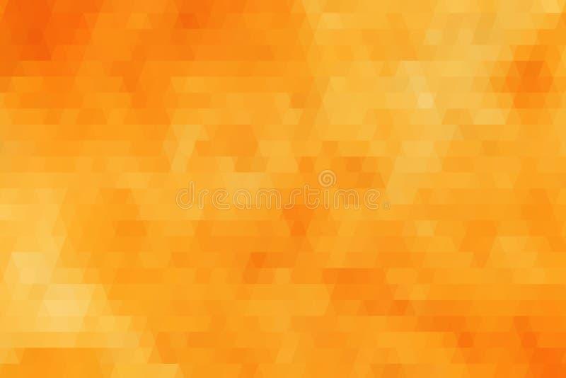 Orange geometrisk texturbakgrund royaltyfri foto