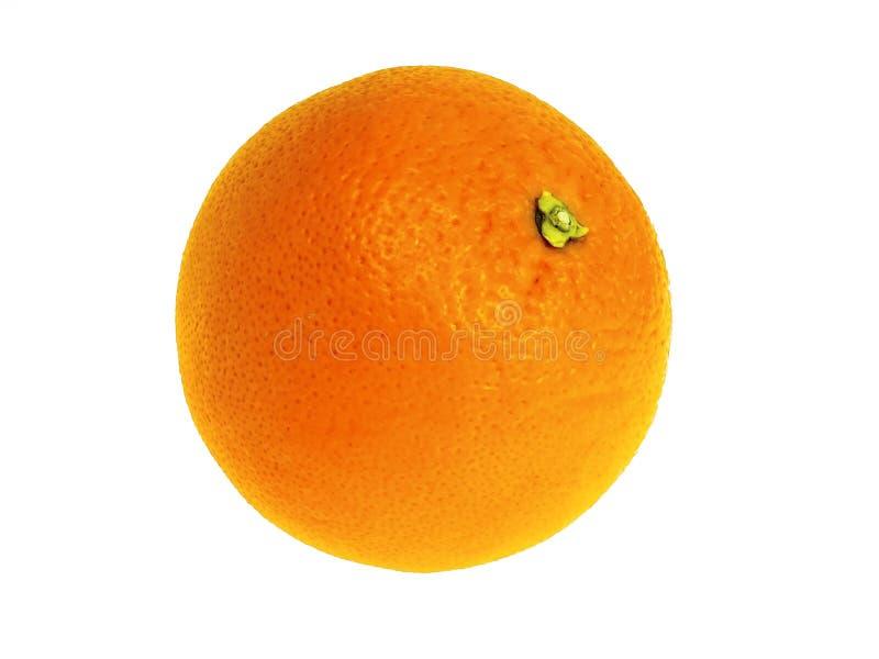 Orange. Getrennt auf Weiß. lizenzfreies stockfoto