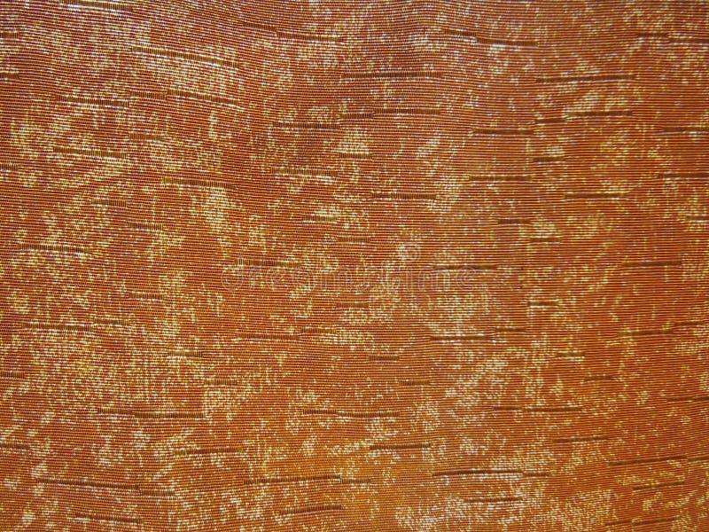 Orange Gewebe stockfotos