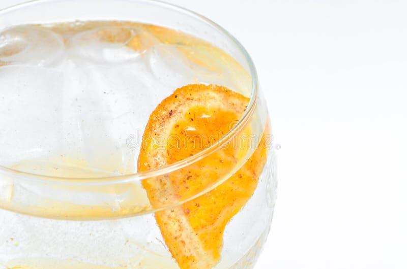 Orange gin arkivfoto