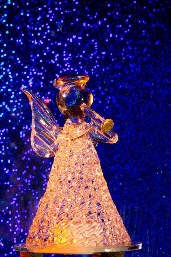 Orange Glass Angel