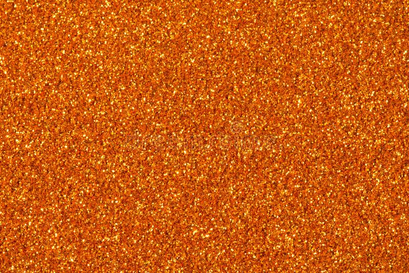 Orange glitter sparkle. Background for your design. High resolution photo stock photography