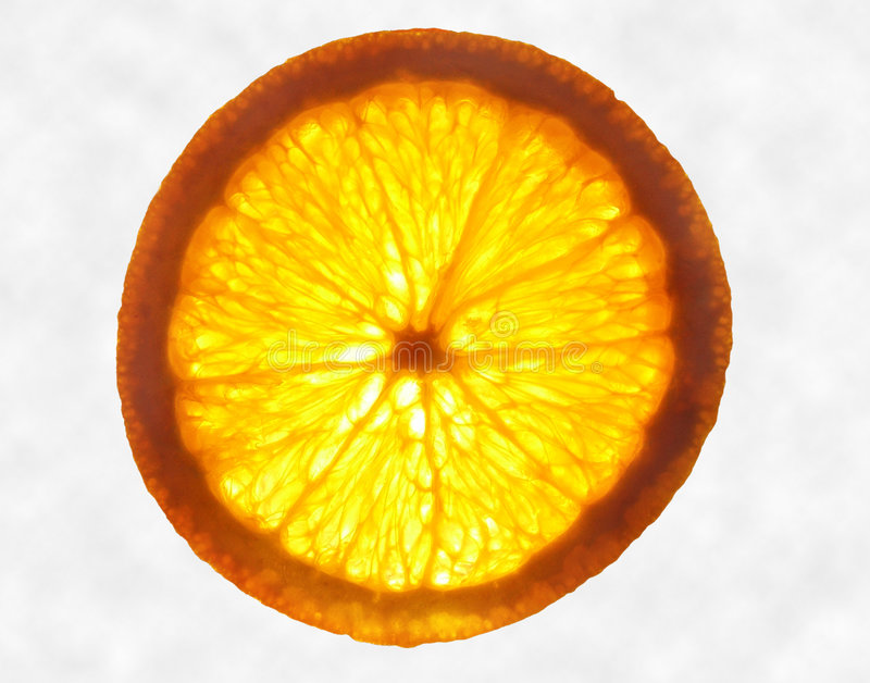 Download Orange Glow stock image. Image of healthy, colour, slice - 44723