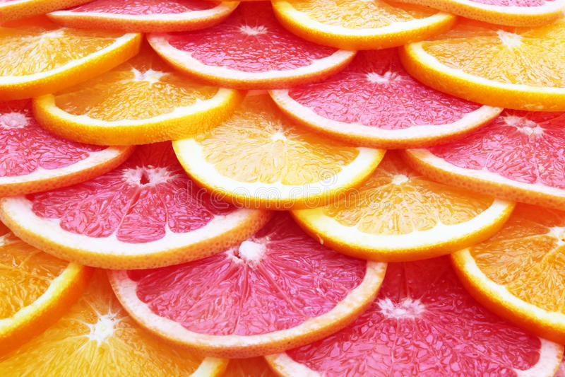 Orange and grapefruit royalty free stock images