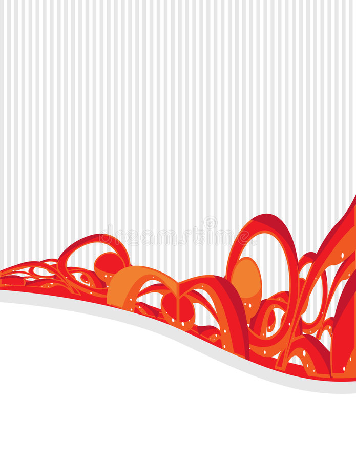 Orange gray background 6 vector illustration