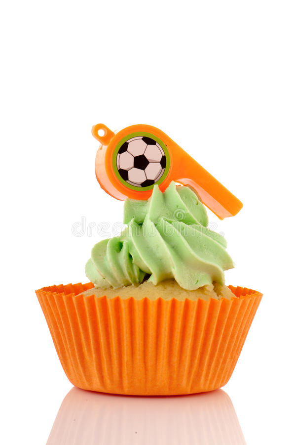 Download Orange and green cupcake stock photo. Image of butter - 24777340