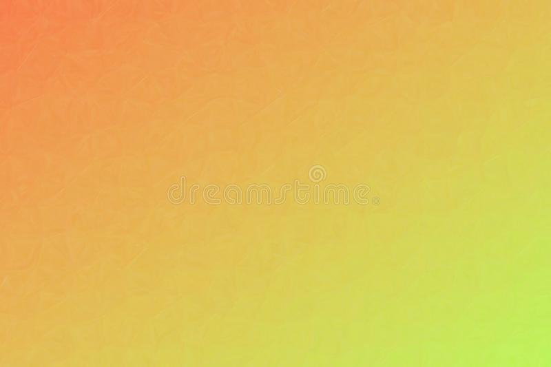 Orange and green Oil Pastel background illustration. Orange and green Oil Pastel background illustration vector illustration