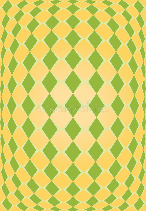 Download Orange And Green Rhombus Texture Stock Photo - Image: 7458860