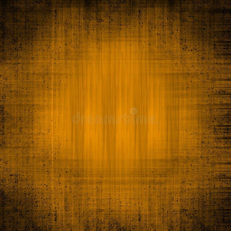 Orange grunge textured background royalty free illustration