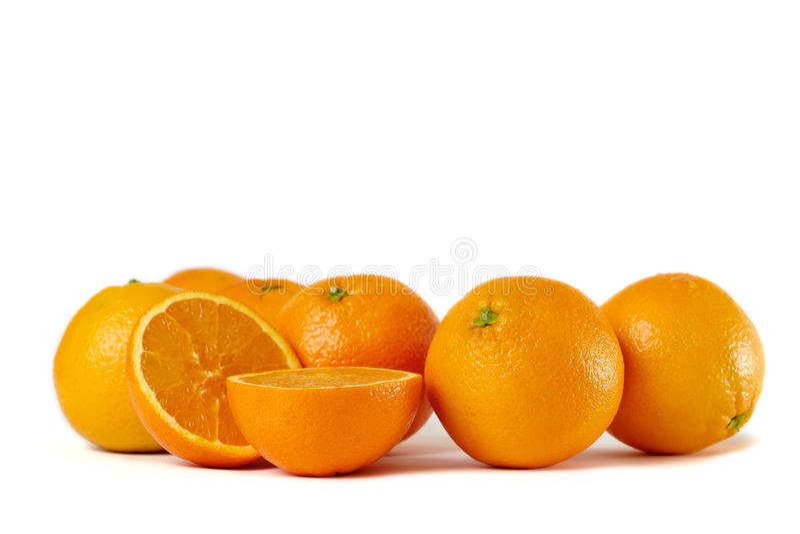 Orange Gruppe lizenzfreie stockbilder