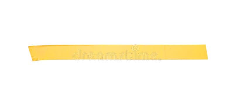 Orange gult bandband på vit bakgrund royaltyfri illustrationer