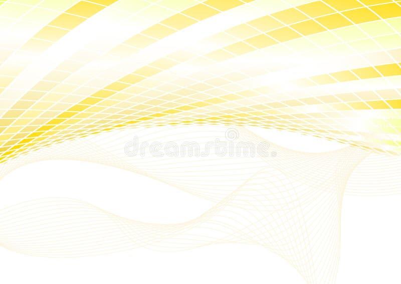 Orange Halbtonhintergrund stock abbildung