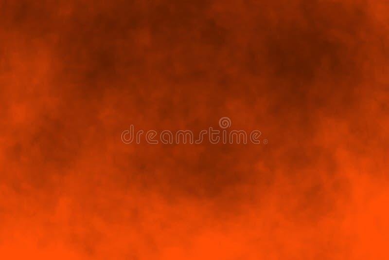 Orange Halloween Background. An abstract orange Halloween background