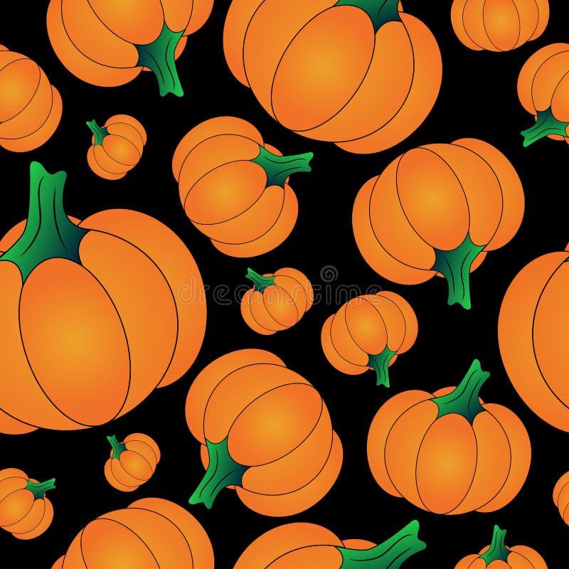 Free Orange Halloween Pumpkin Background Seamless Pattern Royalty Free Stock Image - 100412326