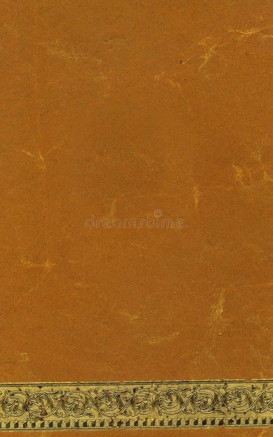 Orange Handmade Paper royalty free stock images