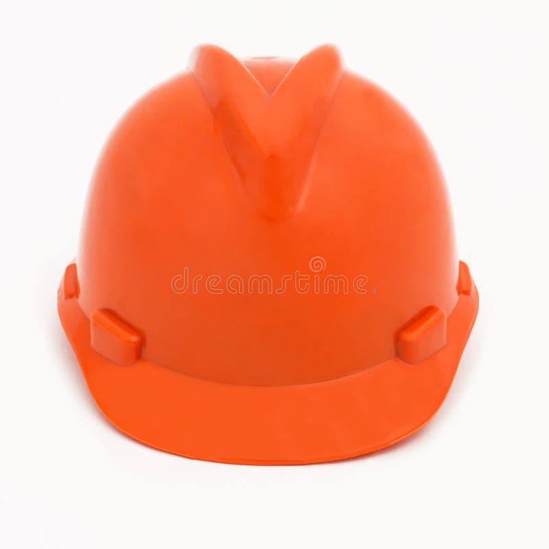 Orange Hardhat royalty free stock images