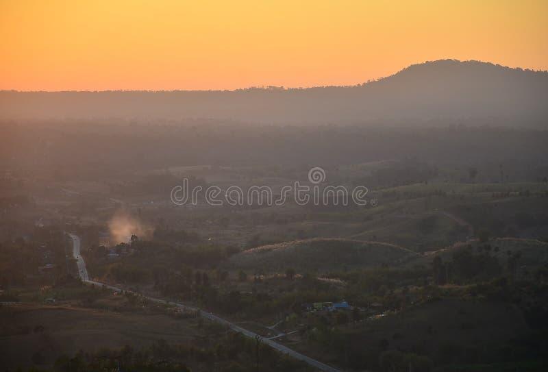 Orange Himmel lizenzfreie stockfotografie